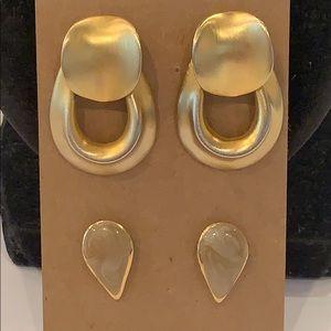 💐5/25 Gold tone matte finish door knocker 1980s
